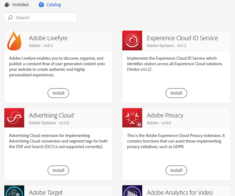 Adobe Launch Extension Library