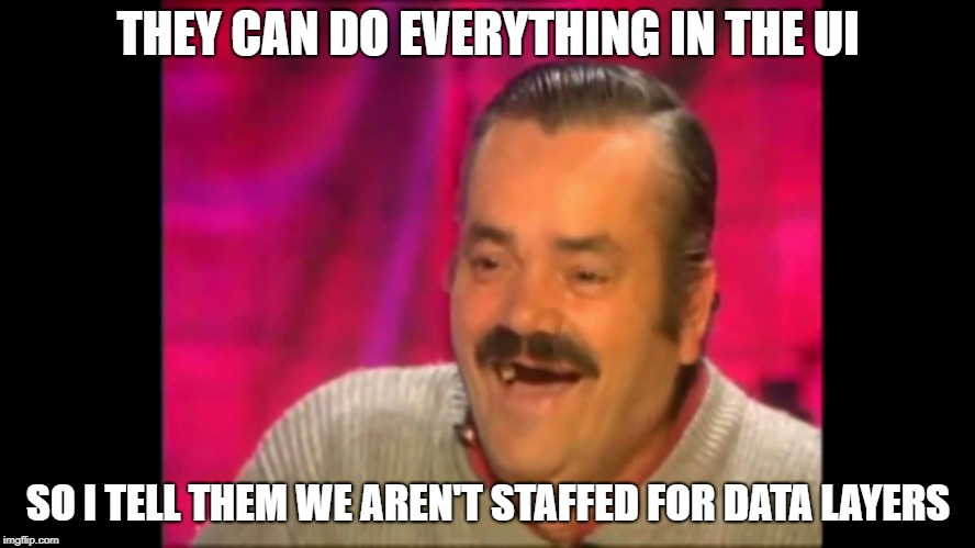 Not Staffed for Data Layers