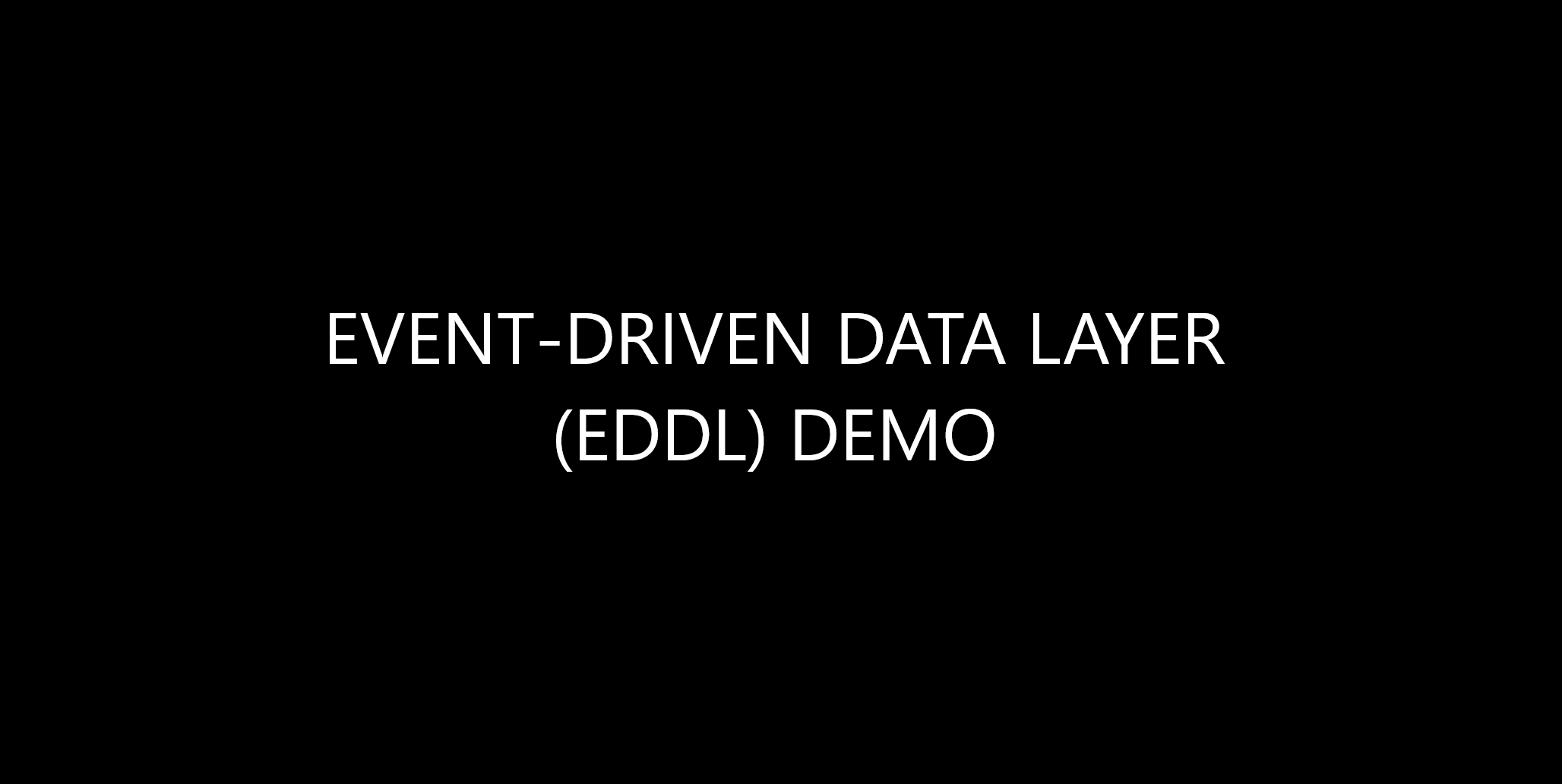 EDDL Demo