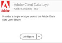 Adobe Client Data Layer